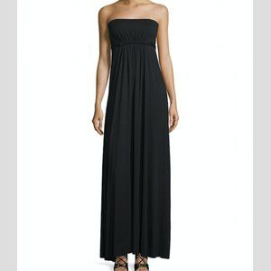 Rachel Pally Strapless Empire-Waist Caftan Dress